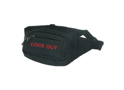 Safety Lockout Waist Bag