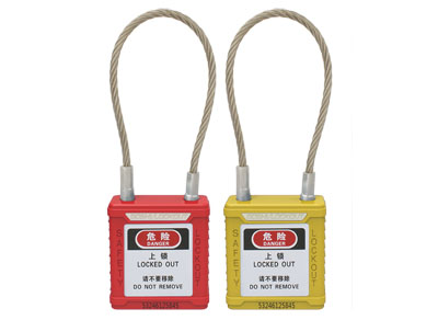 Wire Safety Padlock BD-G41~G48